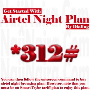 airtel night subscription
