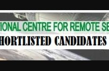 ncrs shortlisted candidates