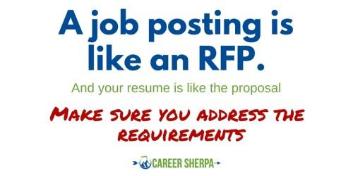 Resume proposal