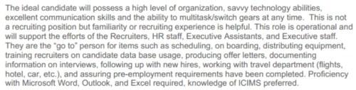 recruiting coordinator