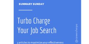 Summary Sunday: Turbocharge Your Job Search