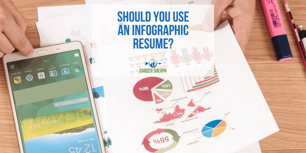 go ahead use an infographic resume career sherpa