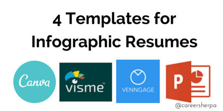 4 Templates for Infographic Resumes