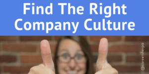 Find The Right Company Culture