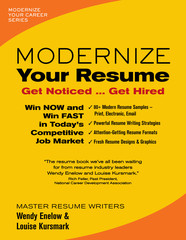 Modernize Your Resume  Resume Books