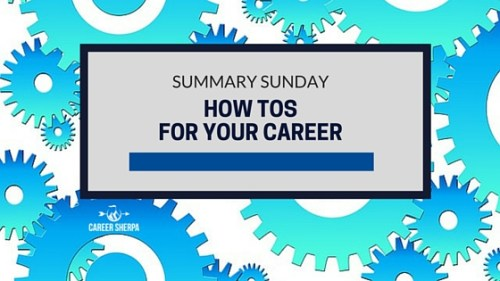 How Tos For Your Career