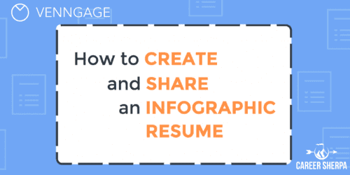 right way use infographic resume