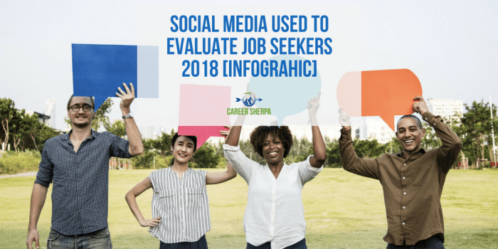 Social Media Used To Evaluate Job Seekers 2018