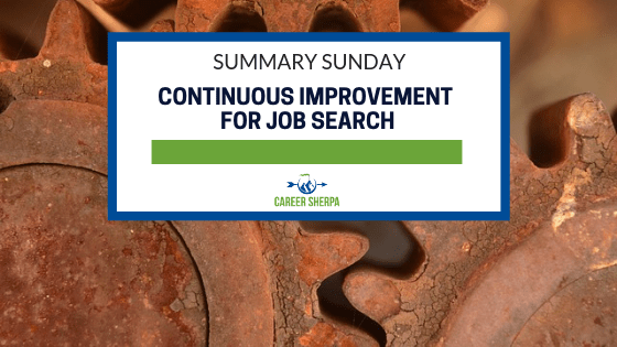 Continuous Improvement for Job Search