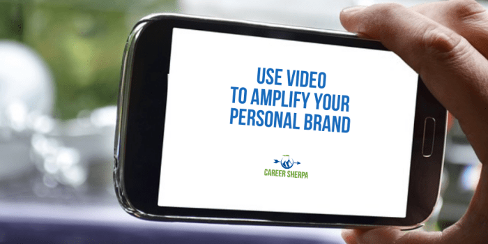 Use Video for Personal Brand
