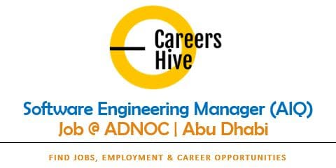 Software Engineering Manager (AIQ)   ADNOC Careers