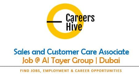 Sales and Customer Care Jobs in Dubai   Al Tayer Group Careers