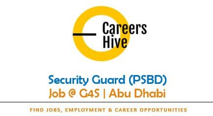 Security Guard (PSBD) Jobs in Abu Dhabi   G4S Careers