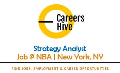 Strategy Analyst Jobs in New York   NBA Careers 2021