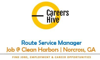Route Service Manager Jobs in Norcross, GA   Clean Harbors