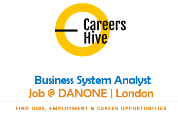 Business System Analyst Jobs in London   Danone Careers