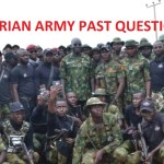 nigerian army past questions and answers