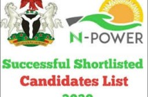 www.npower.fmhds.gov.ng - shortlist