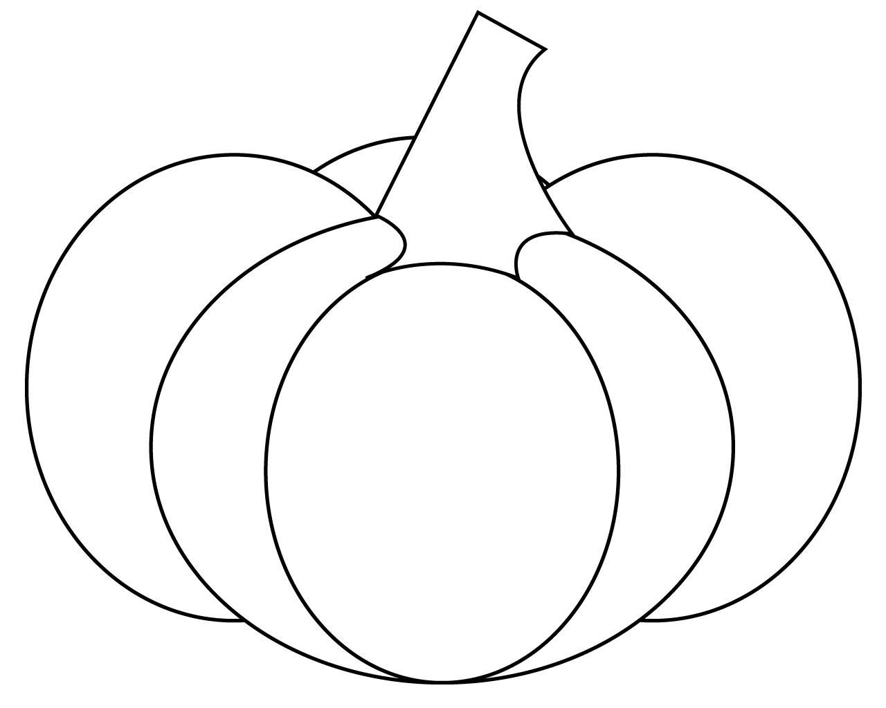 Pumpkin Coloring Sheet Printable