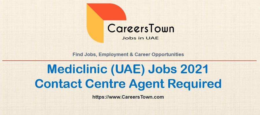 Contact Centre Agent Jobs in Abu Dhabi | Mediclinic Careers