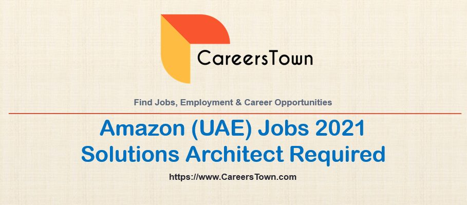 Solutions Architect Jobs in Dubai | Amazon Web Services Careers