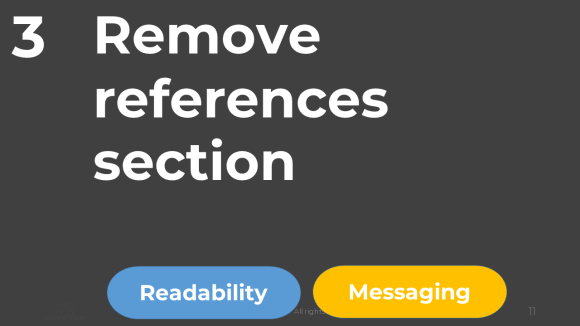 REMOVE REFERENCES