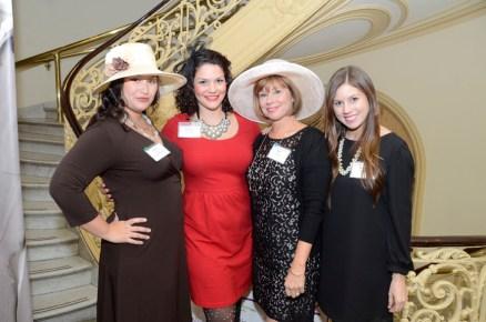 BiancaSantini--Cynthia StPierre, Beth Cohen, Lauren Cohen and guest during the reception