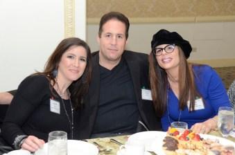 Jen Fisher with David and Dawn Cutillo