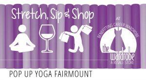 Stretch, Sip, & Shop @ The Wardrobe Resale/Career Wardrobe | Philadelphia | Pennsylvania | United States