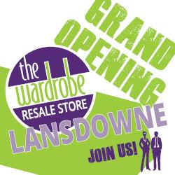 Wardrobe Lansdowne Grand Opening! @ Wardrobe Resale Lansdowne