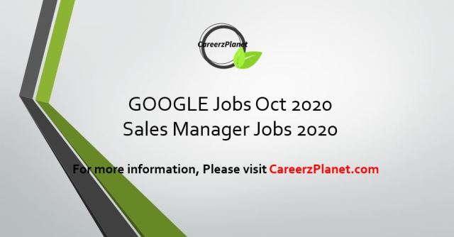 Google Canada Careers | Sales Manager Jobs 2020
