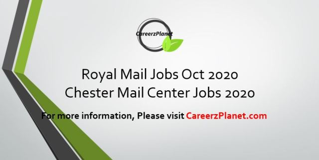 Chester UK Careers   Royal Mail Temporary Jobs 25 Oct 2020