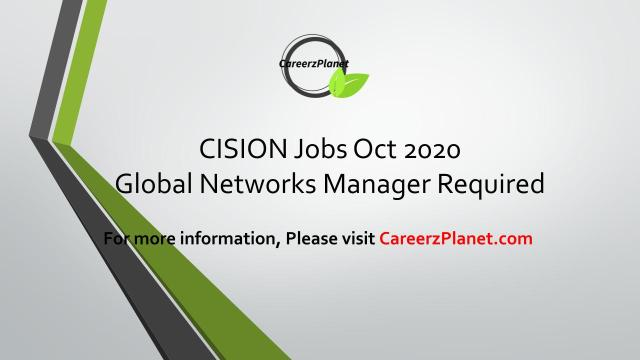 CisionJobs Oct 2020