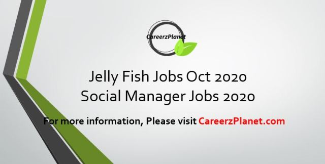Jellyfish Jobs 28 Oct 2020   Paid Manager Job