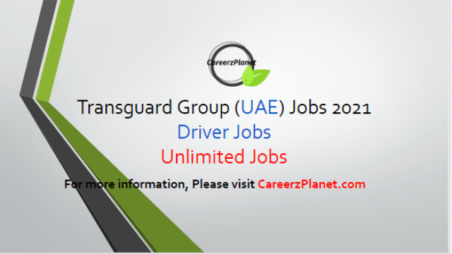 Unlimited Driver Jobs at Transguard Group in Dubai 21 Apr 2021 1- Driver - Category 5 and 6 Full Time Dubai, UAE  Job Skills: a- Ability to read, write and speak English at least at Level 2. b- Must posses a minimum grade 10 educational certificate. c- Valid UAE Driving License – Category 5 and 6. d- Basic IT – Smart phone/tablet use - Operating Hand-Held Devices as required.  Job Responsibilities: a- As a Driver, you will be responsible to Transport airside airport passengers within the vicinities of Dubai International Airport and Al Maktoum International Airports comfortably and maintaining safety at all times. b- Shall be courteous at all time and must be willing to provide assistance to passengers without being prompted.  For more details, please scroll down & see the details.  Last Date to Apply: May-15-2021  Transguard Group Careers - United Arab Emirates Apply at CareerzPlanet.com