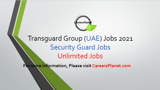 Unlimited Security Guards Jobs in Dubai 21 Apr 2021 1- Security Guard - SIRA Full Time Dubai, UAE  Job Skills & Responsibilities: a- Report any potential incidents that could affect the safety and or security operations of any person or property. b- Always maintain the highest possible levels of customer service. c- Ensure all staff, contractors and visitors are authorized to enter the premises by means of valid passes (where applicable). d- Responsible for all building keys and ensure keys are signed out for and returned on all occasions (where applicable). e- Confirm that each guard will report for duty in the appropriate dress and commence duties at the shift handover. f- Guarantee smoking whilst on an assigned post is not taking place and report if any security guard is caught smoking while conducting his/her duties or outside of the designated areas.  For more details, please scroll down & see the details.  Last Date to Apply: May-15-2021  Transguard Group Careers - United Arab Emirates Apply at CareerzPlanet.com