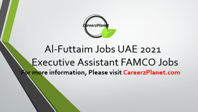 Executive Assistant Jobs in UAE 14 Apr 2021
