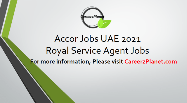 Royal Service Agent Jobs in UAE 15 Apr 2021