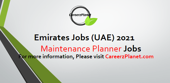 Maintenance Planner Jobs in Dubai 17 Apr 2021