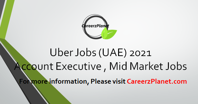 Account Executive, Mid-Market  Jobs in UAE 09 Apr 2021
