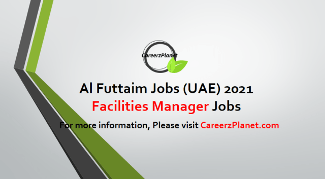 Facilities Manager | AFE Jobs in UAE 19 Apr 2021