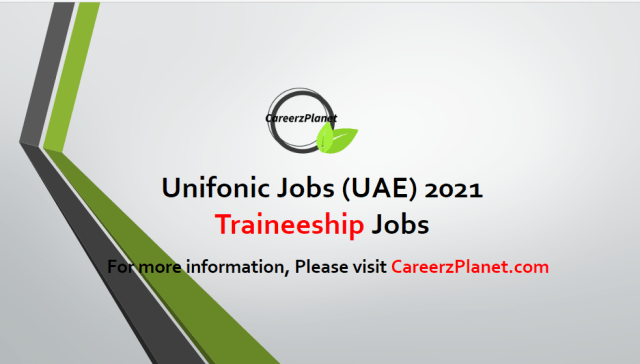 Traineeship Jobs in UAE 27 Apr 2021