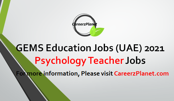 Psychology Teacher Jobs in UAE 18 Apr 2021
