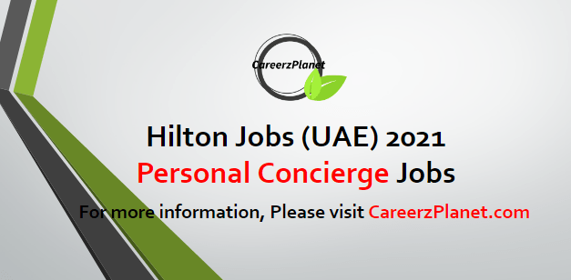 Personal Concierge Jobs 23 Apr 2021