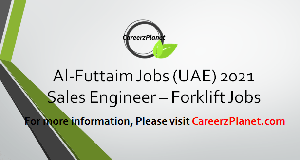 Sales Engineer - Linde Forklift Jobs in UAE 12 Apr 2021