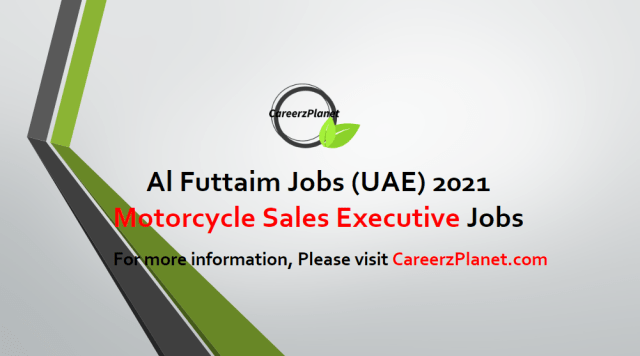 Motorcycle Sales Executive | Honda Jobs in UAE 27 Apr 2021