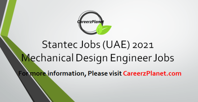 Mechanical Design Engineer Jobs in UAE 12 Apr 2021