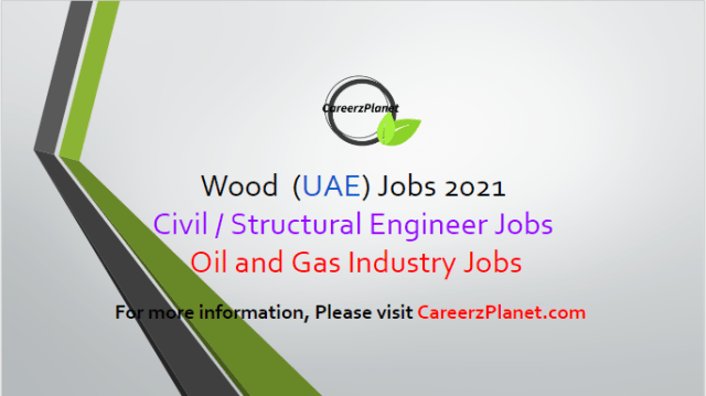 Structural Engineer Jobs in Abu Dhabi 03 Apr 2021 1- PMC Senior Civil and Structural Engineer Full Time Abu Dhabi, UAE  Wood is currently looking to recruit aPMCSenior Civil and StructuralEngineerto work as part of the PMC team on a ADNOC LNG  Responsibilities: a- Review and analyze a steel and concrete structures to various International & Company codes and standards. b- Experience with in working with engineering software such as STAAD.Pro, Foundation 3D, Matt 3D, etc. c- Review and guide the preparation of design calculations for steel and concrete structures.  Requirements: a- Bachelor's degree in civil or structural Engineering from an accredited university with minimum fifteen years relevant experience in the oil / gas industry. b- Must have experience working for a project management organization for at least three years in similar position. c- Must have experience working on LNG / Sulphur reduction projects.  For more details, please scroll down & see the details.  Last Date to Apply: Apr-15-2021  Wood Careers - United Arab Emirates Apply at CareerzPlanet.com
