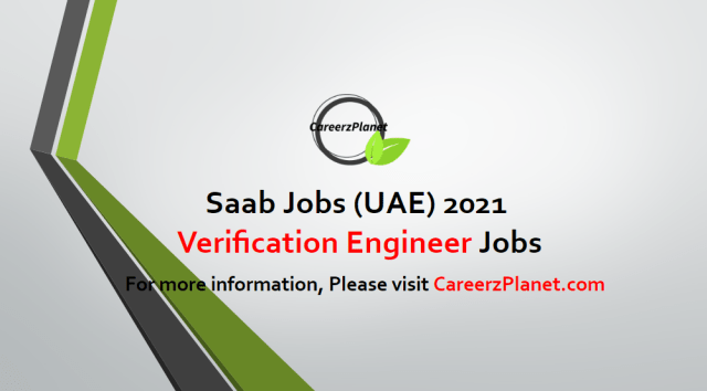 Ruggedization and Verification Engineer Jobs in UAE 24 Apr 2021
