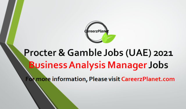 Business Analysis Manager Jobs in UAE 02 May 2021